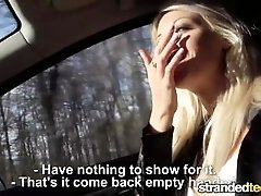 StrandedTeens - Blonde gives...
