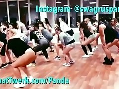Group twerk lesson Swag Russian...