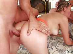 Daddy Seduce Step-Daughter to...