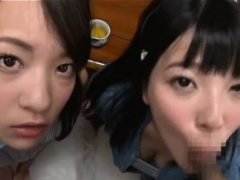Jav Idol Ai And Friend Eat Cum...