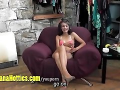 Cute TEEN does her really first...