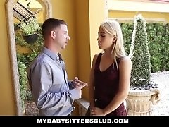 xhamster blonde-babysitter-gets-fucked-fo...