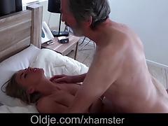 Playful big tits babe fucking...