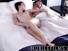xhamster Sensual morning fuck ends with...