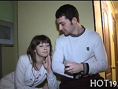 Fresh teen is pounded