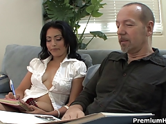 Teachers pet Andrea Kelly fucked