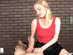 POV Blonde Teen A Master In...