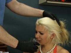 Extremely hardcore BDSM rope sex...