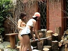 Hot lesbian massage hd Cutting...