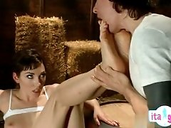 Hot cowgirl anal crying