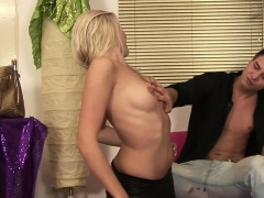 Mia Angelo is a gorgeous blonde...