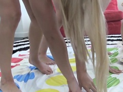 Lovely group of Sexy teens gets...