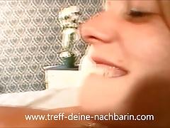 Deutsche Teen Nachbarin...