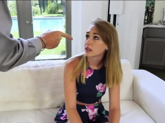 Stepdad and teen fucking until...