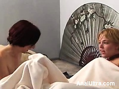 Horny lesbians Missy Monroe and...