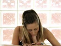 Tight brunette masseuse Cassidy...