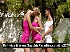 xhamster Sexy brunette and blonde...