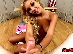 Teen Carmen Caliente Locker Room...