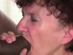 Fat mature penetrating hard