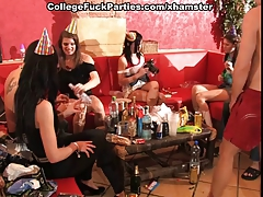 Students sex party with lots of...