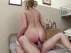 Milf Teacher Seduce Young Boy To...
